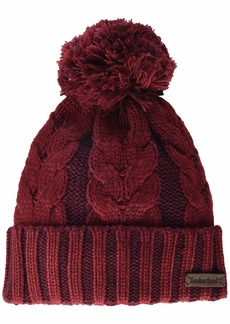 Timberland Women's Plaited Cable Cuff Hat