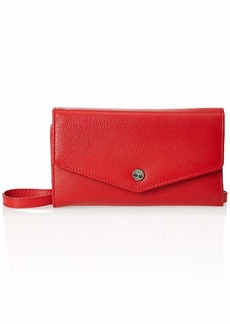 Timberland womens Rfid Leather Crossbody Wallet Phone Bag With Detachable Crossbody Strap Cross Body   US