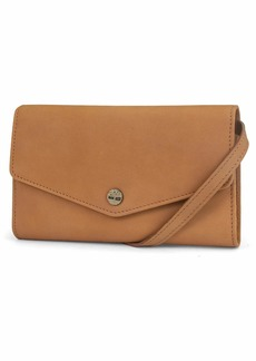 Timberland Womens RFID Leather Wallet Phone Bag with Detachable Crossbody Strap