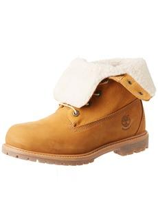 Timberland Women's Teddy Fleece Fold Down WP Boot