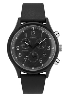 Timex Men's MK1 Chronograph Strap Watch, 42mm