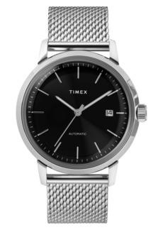 Timex® Marlin Mesh Strap Automatic Watch, 40mm