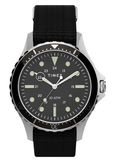 Timex® Navi XL NATO Strap Watch, 41mm