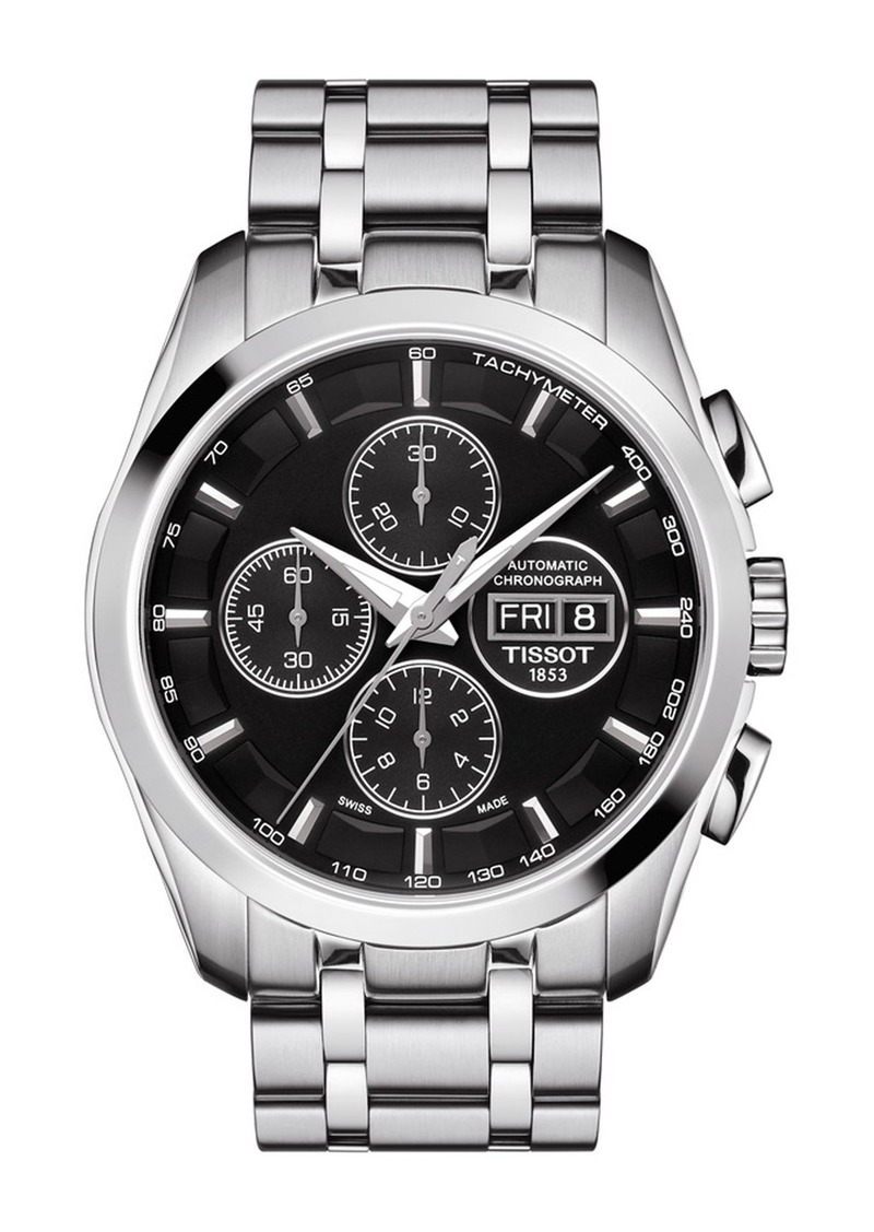 Tissot Men's Couturier Swiss Automatic Watch, 43mm