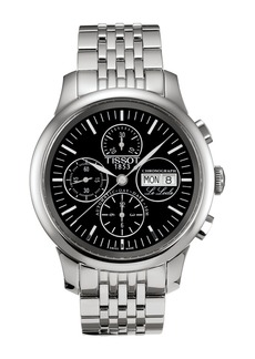 Tissot Men's Le Locle Automatic Chronograph Valjoux Bracelet Watch, 42.3mm