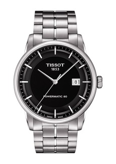 Tissot Men's Luxury Powermatic 80 Bracelet Watch, 41mm