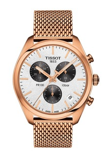 Tissot Unisex Pr 100 Chronograph Watch, 41mm