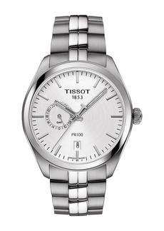 Tissot Men's Pr 100 Dual Time Watch, 39mm