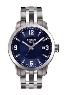 Tissot Men's PRC 200 Two-Tone Bracelet Watch, 39.3mm