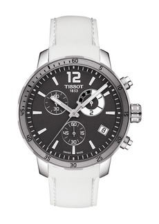 Tissot Men's Quickster Chronograph Football Sport Watch, 42mm