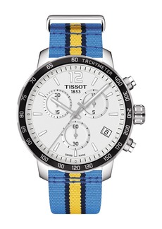 Tissot Men's Quickster Chronograph NBA Denver Nuggets Watch, 42mm