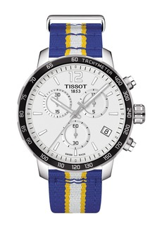 Tissot Men's Quickster Chronograph NBA Golden State Watch, 42mm