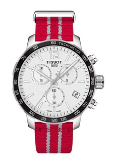 Tissot Men's Quickster Chronograph NBA Houston Rockets Watch, 42mm