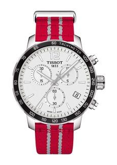 Tissot Men's Quickster Chronograph NBA Houston Rockets Watch, 42mm