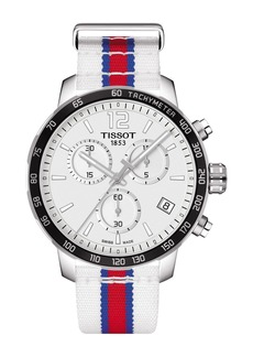 Tissot Men's Quickster Chronograph NBA Los Angeles Clippers Watch, 42mm