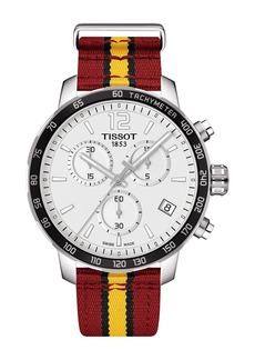 Tissot Men's Quickster Chronograph NBA Miami Heat Watch, 40mm