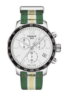 Tissot Men's Quickster Chronograph NBA Milwaukee Bucks Watch, 42mm