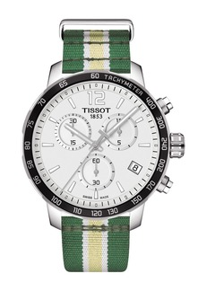 Tissot Men's Quickster Chronograph NBA Milwaukee Bucks Watch, 42mm