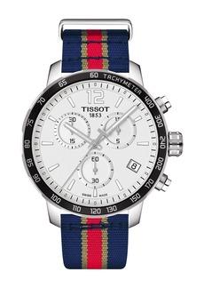Tissot Men's Quickster Chronograph NBA New Orleans Pelicans Watch, 42mm
