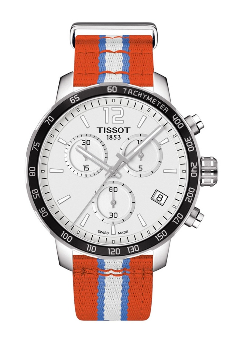 Tissot Men's Quickster Chronograph NBA Oklahoma City Thunder Watch, 42mm