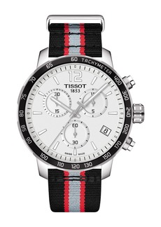Tissot Men's Quickster Chronograph NBA Portland Trailblazers Watch, 42mm