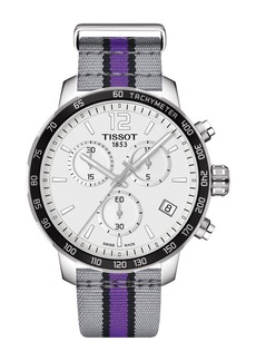 Tissot Men's Quickster Chronograph NBA Sacramento Kings Watch, 42mm
