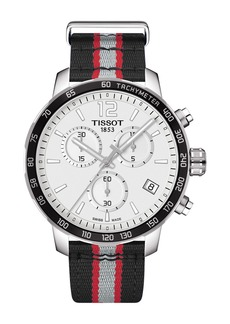 Tissot Men's Quickster Chronograph NBA Toronto Raptors Watch, 42mm