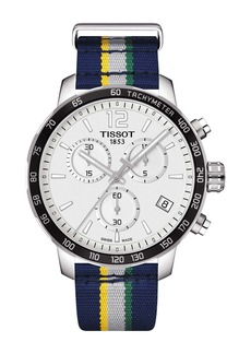 Tissot Men's Quickster Chronograph NBA Utah Jazz Watch, 42mm