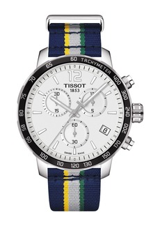 Tissot Men's Quickster Chronograph NBA Utah Jazz Watch, 42mm