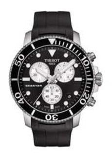 Tissot Men's Seastar Chronograph Bracelet Watch, 45mm