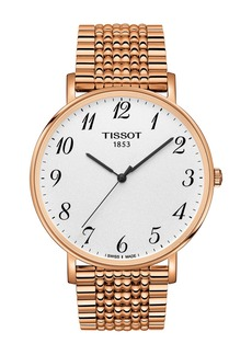 Tissot Men's T-Classic Everytime Bracelet Watch, 42mm
