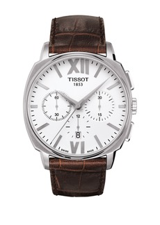 Tissot Men's T-Lord Swiss Leather Strap Watch, 42mm