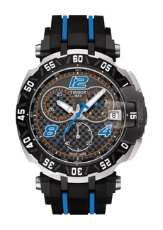 Tissot Men's T-Race Tito Rabat 2016 Rubber Strap Watch, 47mm