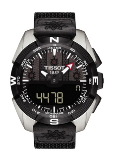 Tissot Men's T-Touch Expert Solar Fete Lutte Suisse Watch, 45mm