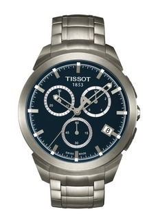 Tissot Men's Titanium Chronograph Bracelet Watch, 43mm