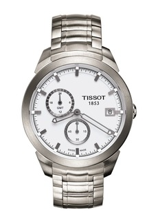 Tissot Men's Titanium GMT Bracelet Watch, 43mm