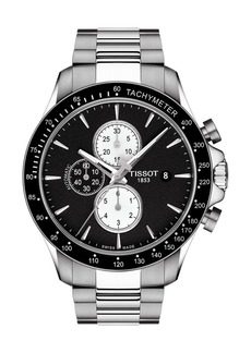 Tissot Men's V8 Automatic Bracelet Watch, 45mm
