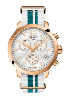 Tissot Unisex Quickster NATO Chronograph Watch, 42mm