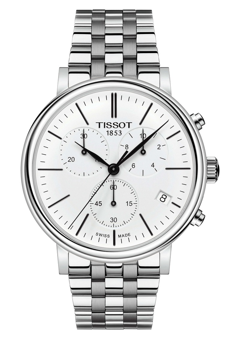 Tissot Carson Premium Chronograph Bracelet Watch, 41mm