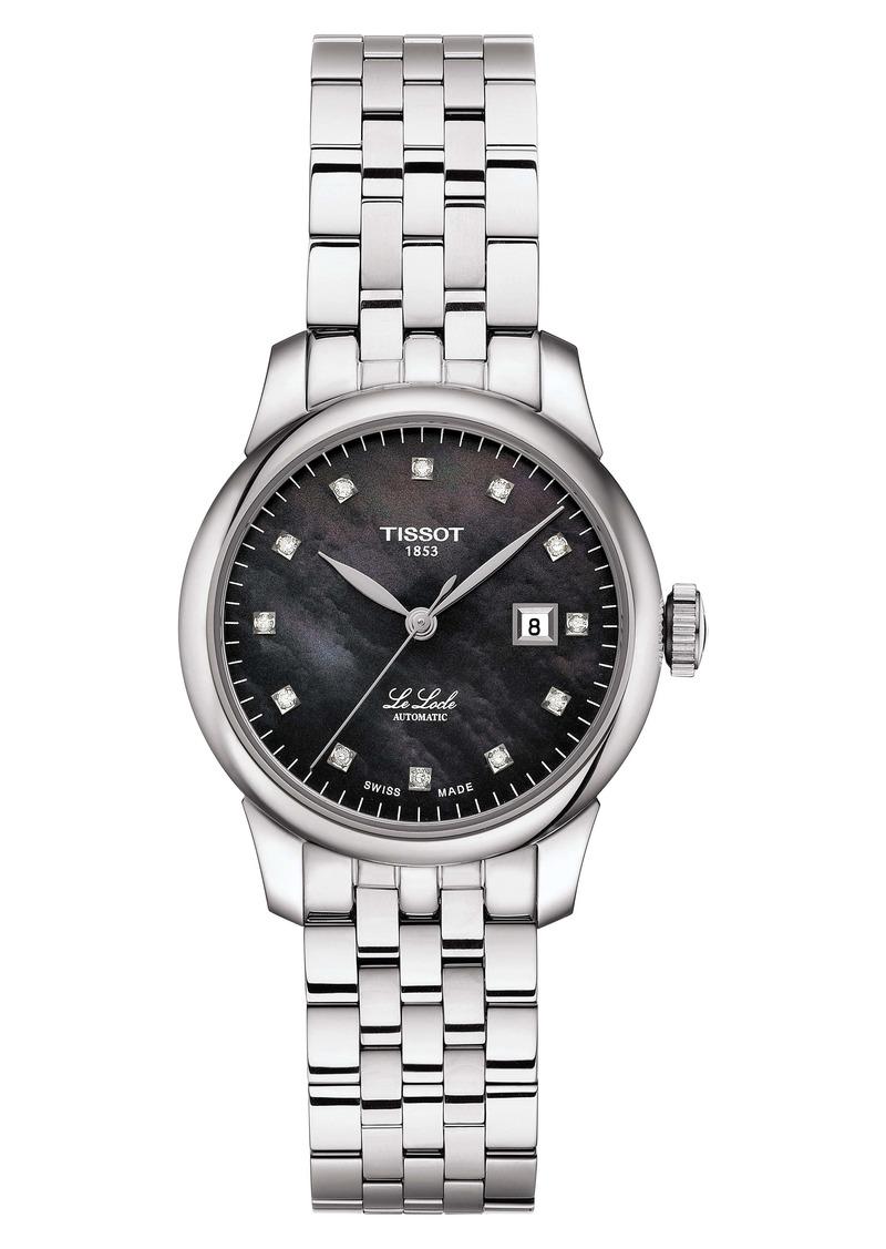 Tissot Le Locle Diamond Bracelet Watch, 29mm
