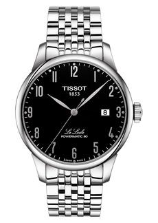 Tissot Le Locle Powermatic 80 Automatic Bracelet Watch, 39mm