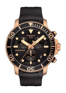 Tissot Seastar 1000 Chronograph Rubber Strap Watch, 45mm