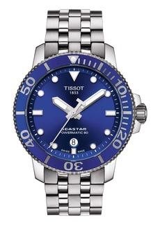 Tissot Seastar 1000 Powermatic 80 Bracelet Watch, 43mm