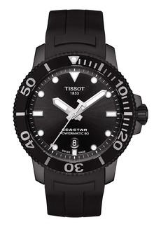 Tissot Seastar 1000 Powermatic 80 Silicone Strap Watch, 43mm