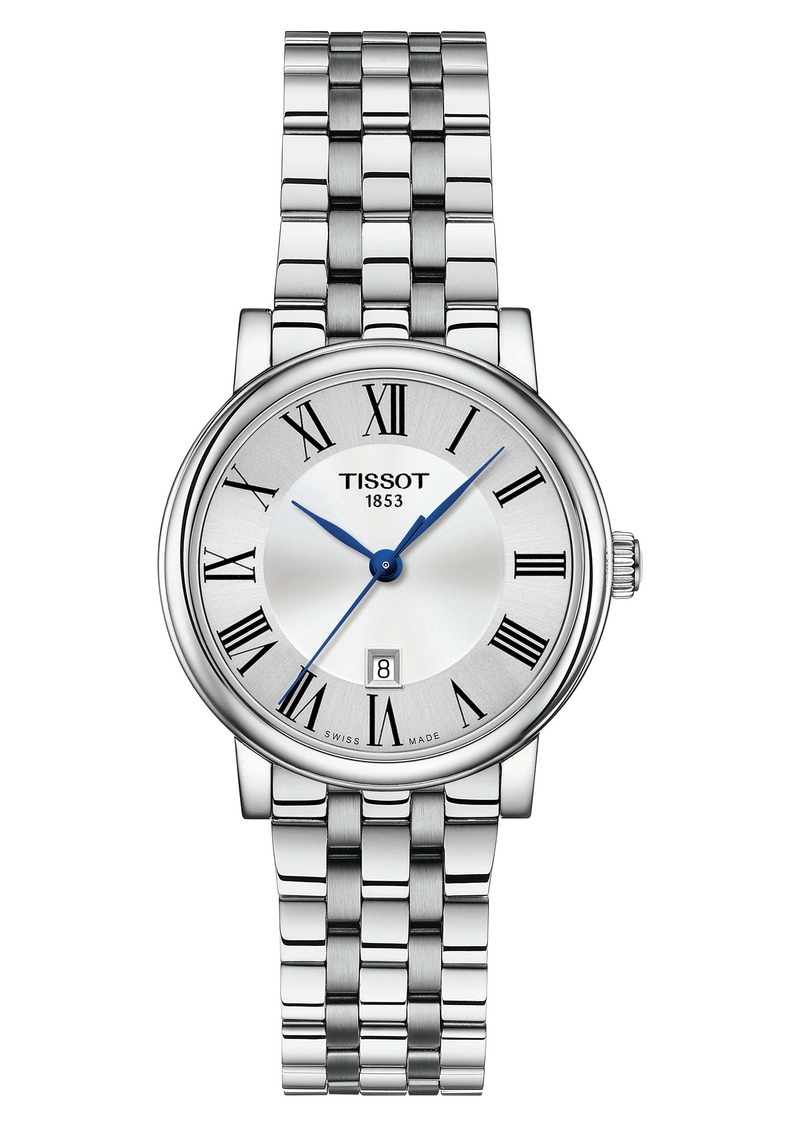 Tissot T-Classic Carson Bracelet Watch, 30mm