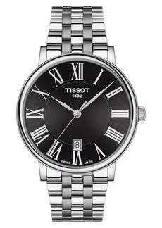 Tissot T-Classic Carson Quartz Bracelet Watch, 40mm