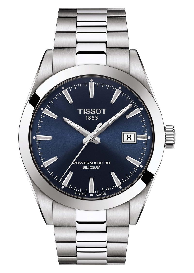 Tissot T-Classic Gentleman Powermatic Bracelet Watch, 30mm