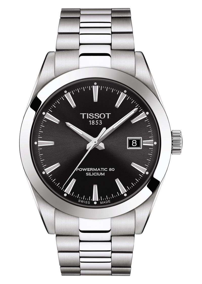 Tissot T-Classic Gentleman Powermatic Bracelet Watch, 40mm