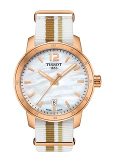 Tissot Unisex Quickster NATO Watch, 40mm