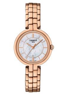 Women's Tissot Flamingo Bracelet Watch